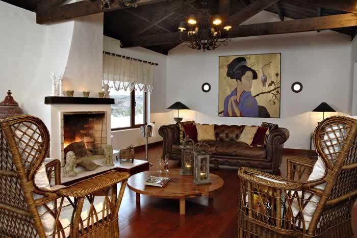 The comfortable lounge at Casa de Hilario #Lanzarote #CasadeHilario