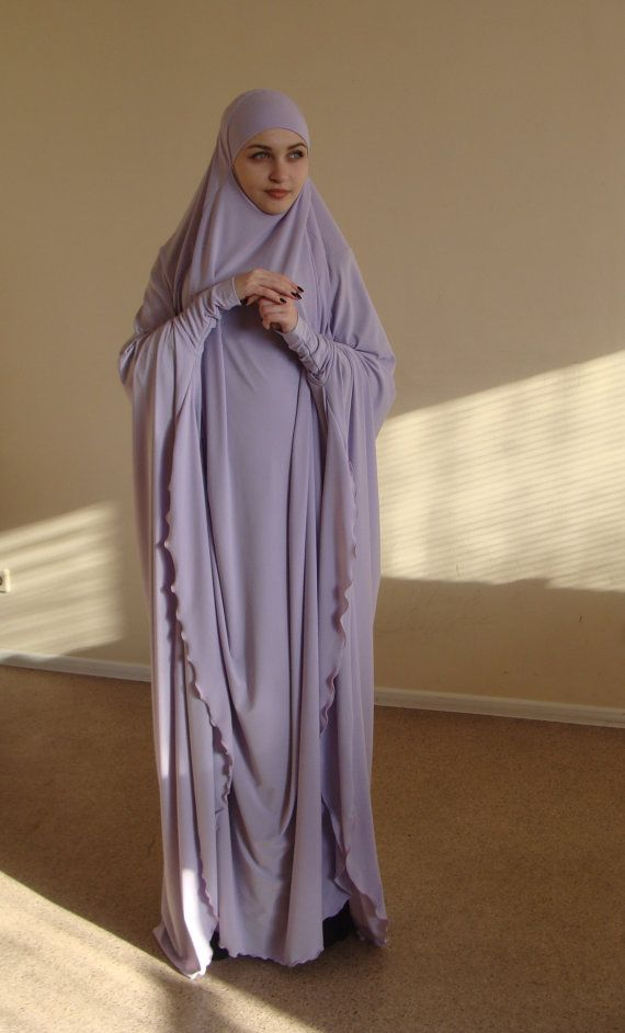Transformer Lilac Khimar Maxi dress Transformer Iris hijab