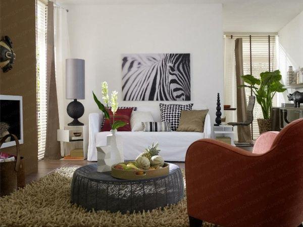 Die besten 25+ Zebra Wohnzimmer Ideen auf Pinterest Torbögen in - wohnzimmer ideen afrika
