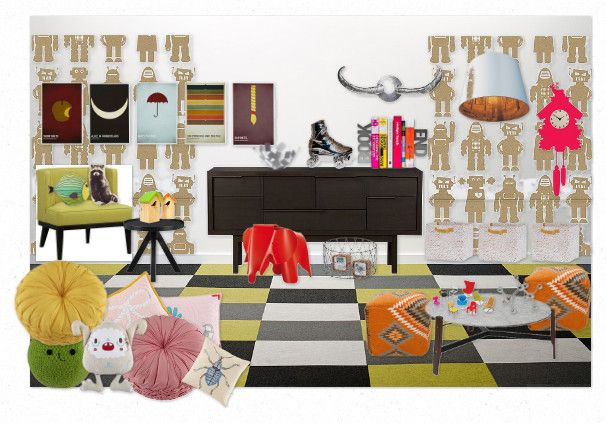 66 best r 39 s playroom ideas images on pinterest child for Land of nod playroom ideas