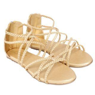 Jade Womens Stylish Peach Zip Sandals: Buy Jade Womens Stylish Peach Zip Sandals Online at best Prices from ShopClues.com