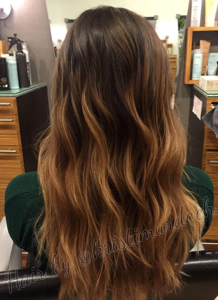 brunette hair with caramel balayage. Black Bedroom Furniture Sets. Home Design Ideas