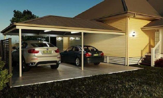 Selain Untuk Menambah Kesan Cantik Pada Rumah Kita Fungsi Lain Dari Pemasangan Sebuah Kanopi Adalah Untuk Memb Carport Design Building A Carport Carport Patio