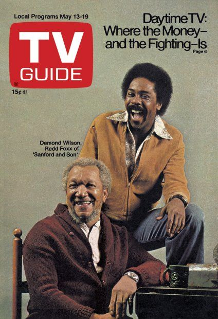 "May 13, 1972 Redd Foxx and Demond Wilson of ""Sanford & Son"""