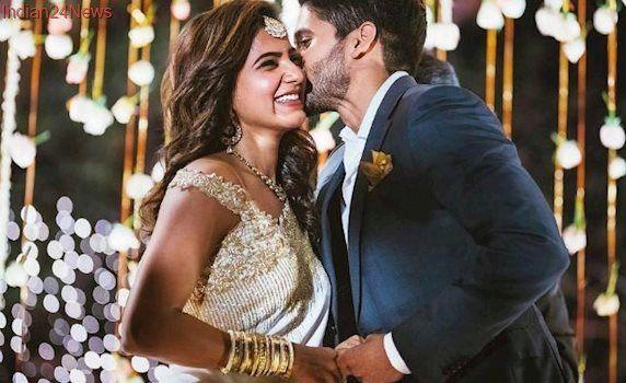 Samantha's Pic With Naga Chaitanya Will Melt The Most Unromantic Heart