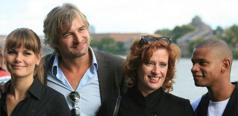 Angela Schijf, Victor Reinier, oda spelbos en Sergio IJssel in flikken maastricht