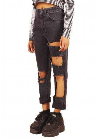 The Ragged Priest Claw Mom Jeans, £59.99