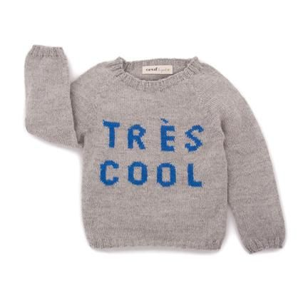 TRES COOL SWEATER