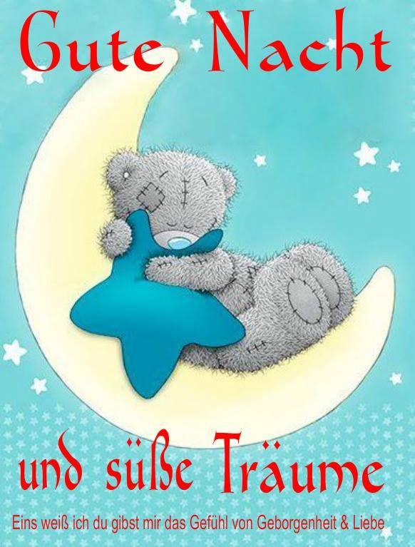 ..... Süße Träume mein Bärchen!!