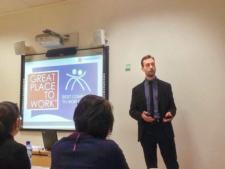 ISTUD Business School, Employer Branding speech by Rocco Fontana