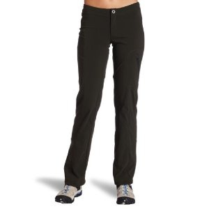 Columbia Women's Just Right Woven Pant // SO COMFY! Stretchy and it holds shape well. Worn these rolled up like capris rock climbing. Worn 'em biking & just around the house. Cool and breathable too.