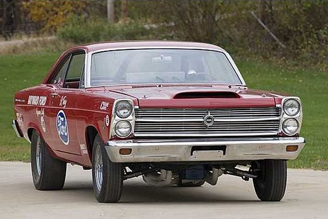 1966 Ford Fairlane Holman And Moody Prepped C Superstock