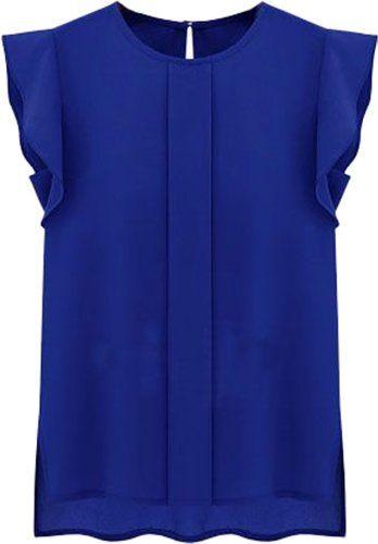 ADS - Camicia - Basic - Maniche corte  -  donna blu Mediu... https://www.amazon.it/dp/B00KILOFZC/ref=cm_sw_r_pi_dp_c2tGxbVGZ5T50