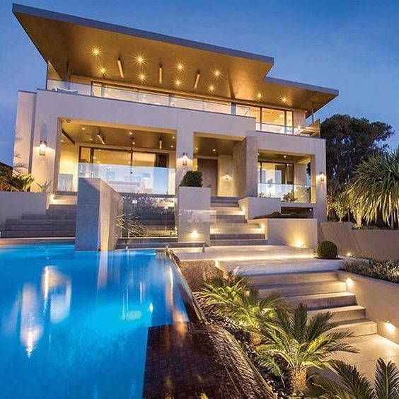 1000 images about dream homes on pinterest mansions for Mansiones modernas