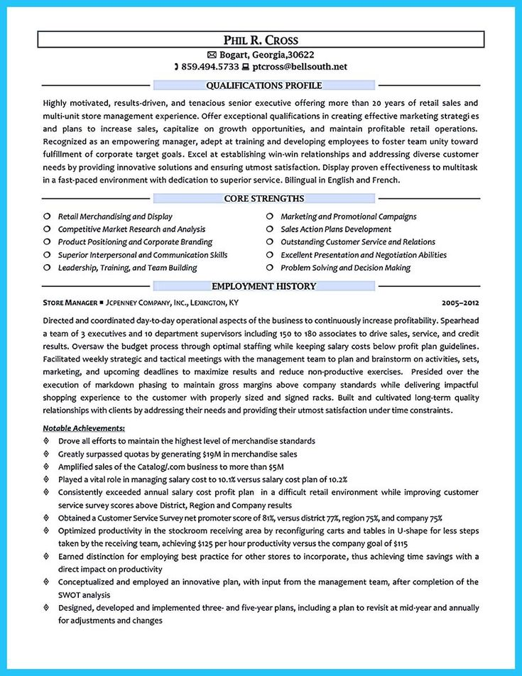 cool Crafting a Great Assistant Store Manager Resume, Check more at http://snefci.org/crafting-great-assistant-store-manager-resume