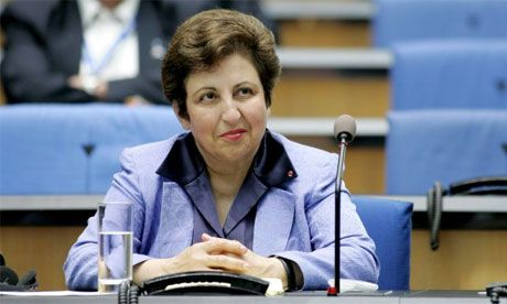 Shirin Ebadi  Iran's first female judge, founder of the Human Rights Defenders Centre and the first Muslim woman to be awarded the Nobel Peace prize