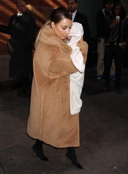 Kim Kardashian Photos - Kim Kadashian Takes Nori Out for a Stroll - Zimbio