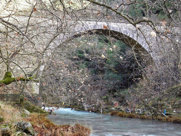 Paralogitiko Bridge near Paralogi village Arcadia Peloponnese
