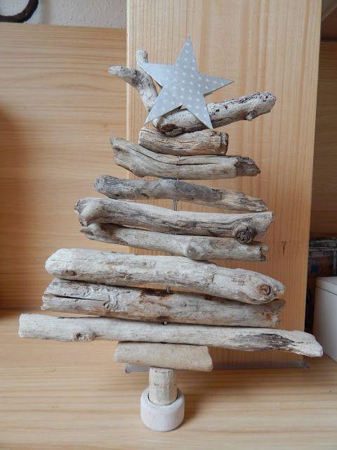 IdeenMuckla: Bäumchen aus Treibholz