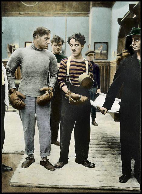 Chaplin in 'The Champion'