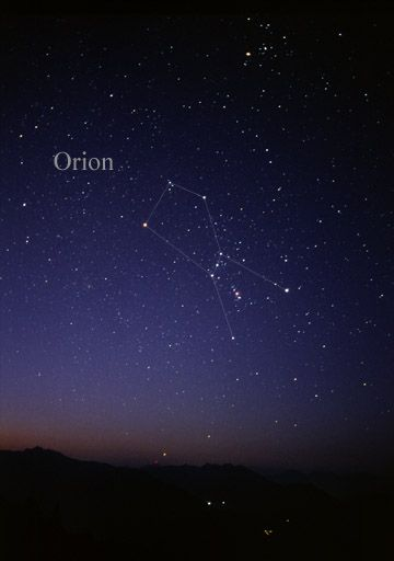 Constelación de Orion