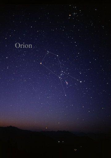 Constelación de Orion