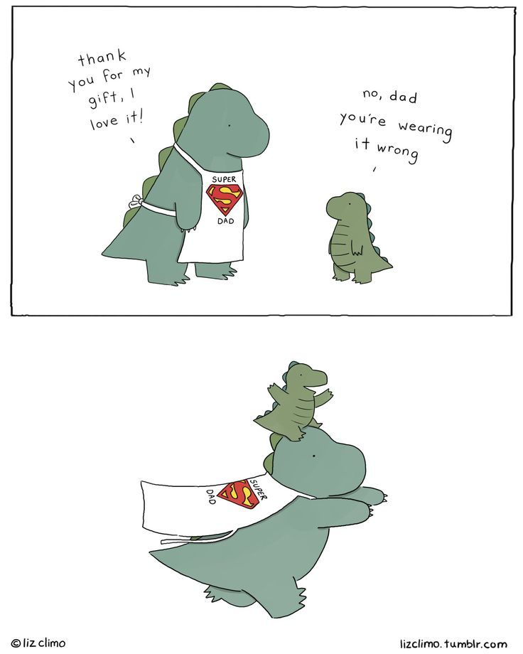 lizclimo: That's more like it. Have a super Father's Day, everyone! For more adventures with Rory and his dad, check out their picture book here!