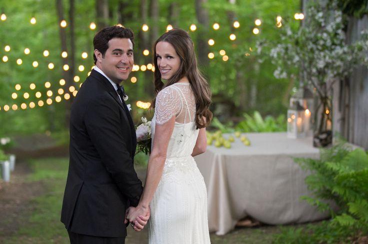 Maine romantic wedding, half up updo