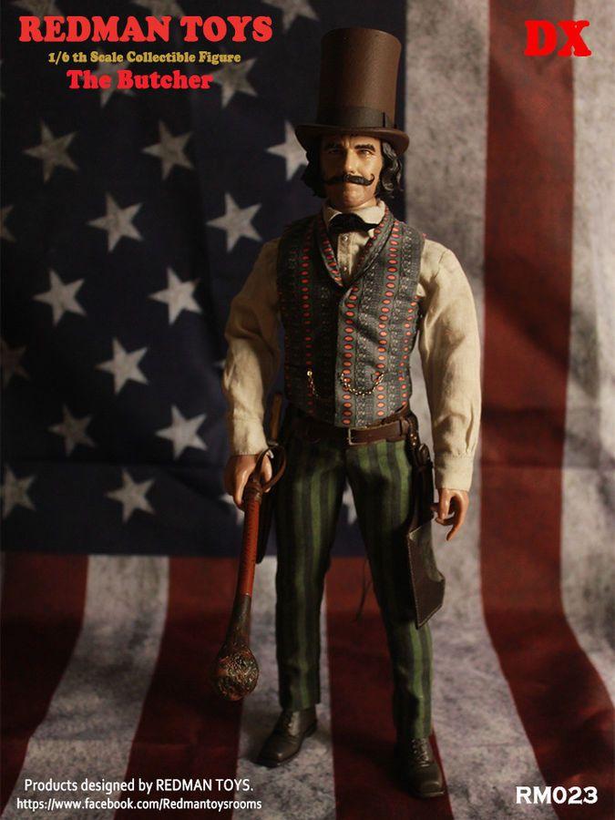 Redman TOYS 1//6 gang di New York Bill il macellaio II Figura RM028 Rainman