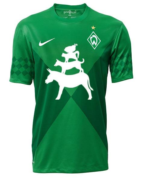 Das neue Werder-Trikot.