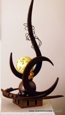 amazing abstract choc art