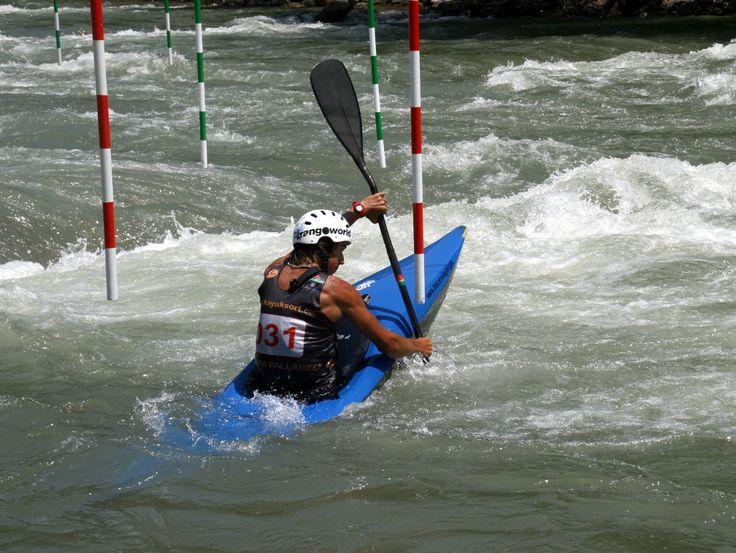 Slalom course, Sort, Spain