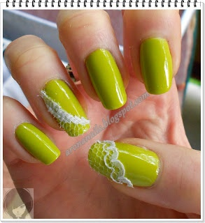 Funny Nails: Projekt Trendy - koronka