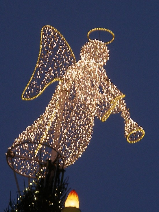 Cristmas Angel in Germany Dortmund