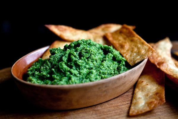 Broccoli Pesto #recipe #healthy; by Martha Rose Shulman , photo: Andrew Scrivano for The New York Times