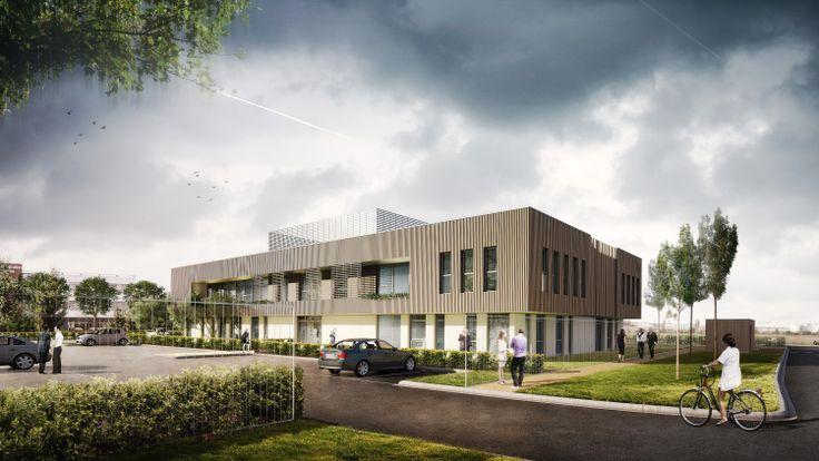 MODULO 1- Villeneuve d'Ascq (59) - MO: KIEKEN IMMOBILIER CONSTRUCTION - Architectes: Goulard-Brabant-Loiez - Photographe: KIC - NF HQE Bâtiments Tertiaires - Niveau HQE Excellent