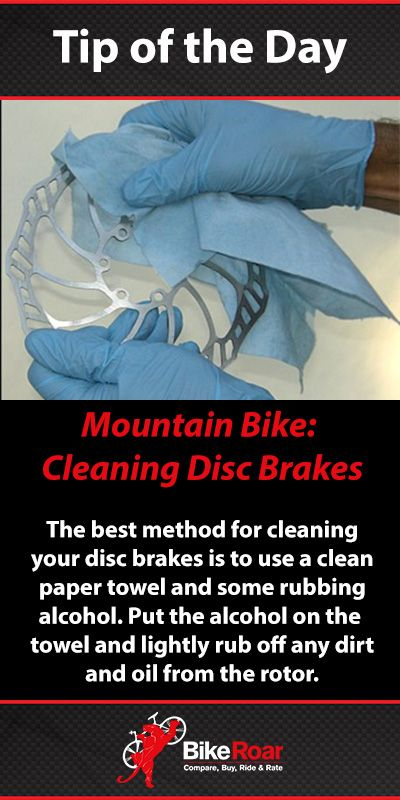 Do a light cleaning after every ride. Avoid using any chemicals as they can cause contamination. #discbrakesdonotneedlube