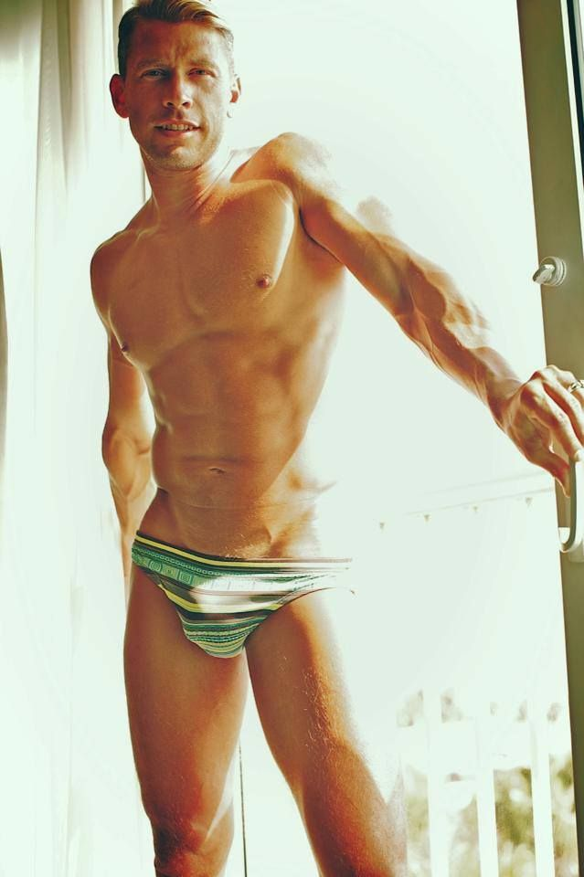 Terry Miller In Mr Turk Swimwear From Our Upcoming Resort