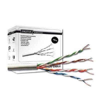 Cablu retelistica Digitus DK-1511-V-1, 100m, cat5, utp, installation
