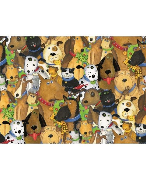 Ravensburger Веселые собаки 500 шт