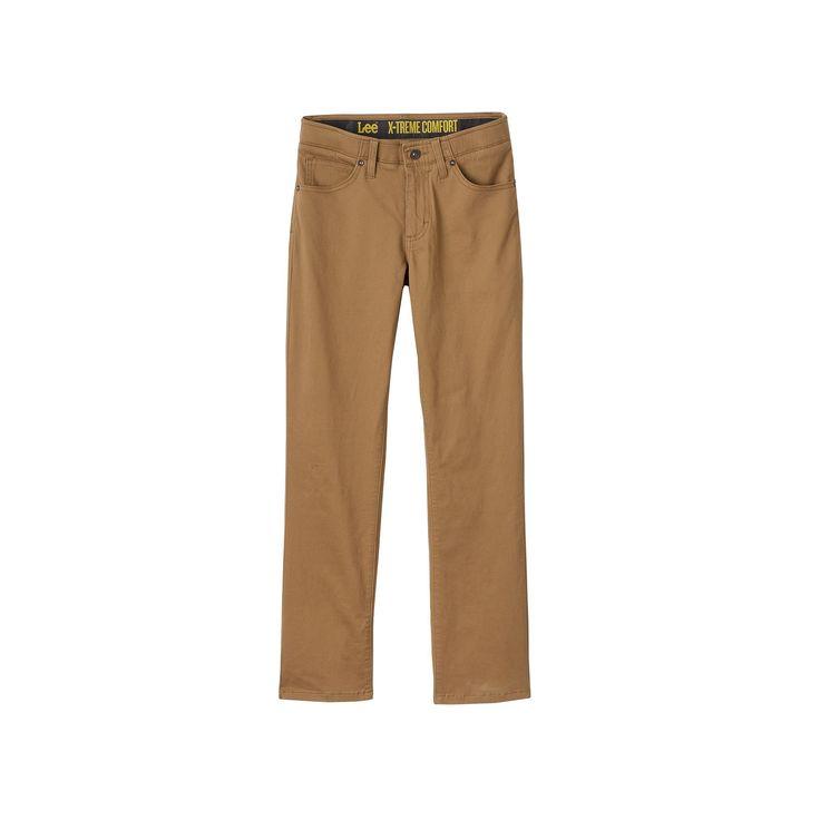Boys 8-20 Lee Sport Xtreme Comfort Slim-Fit Pants, Boy's, Size: 12 Slim, Dark Beige