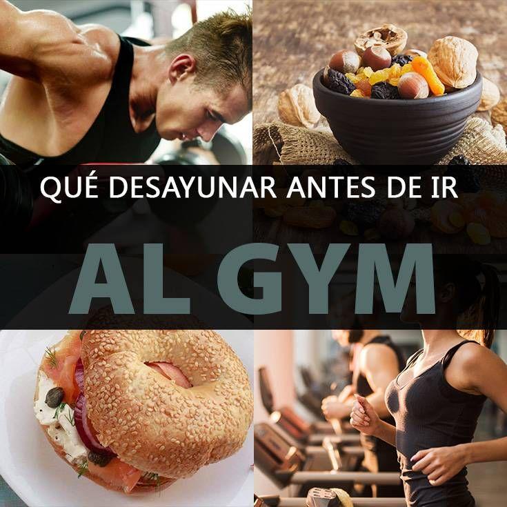 desayunos saludables antes de ir al gym