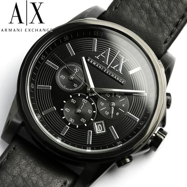 17 best ideas about ax watches men s watches nice ax armani exchange watches armani exchange watch men s black leather strap 45mm ax2098