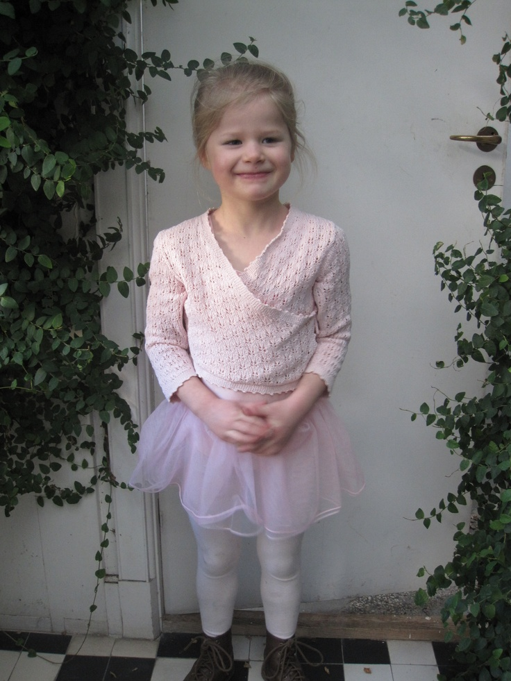 Marie som balletprinsesse i Valby, fastelavn 2011