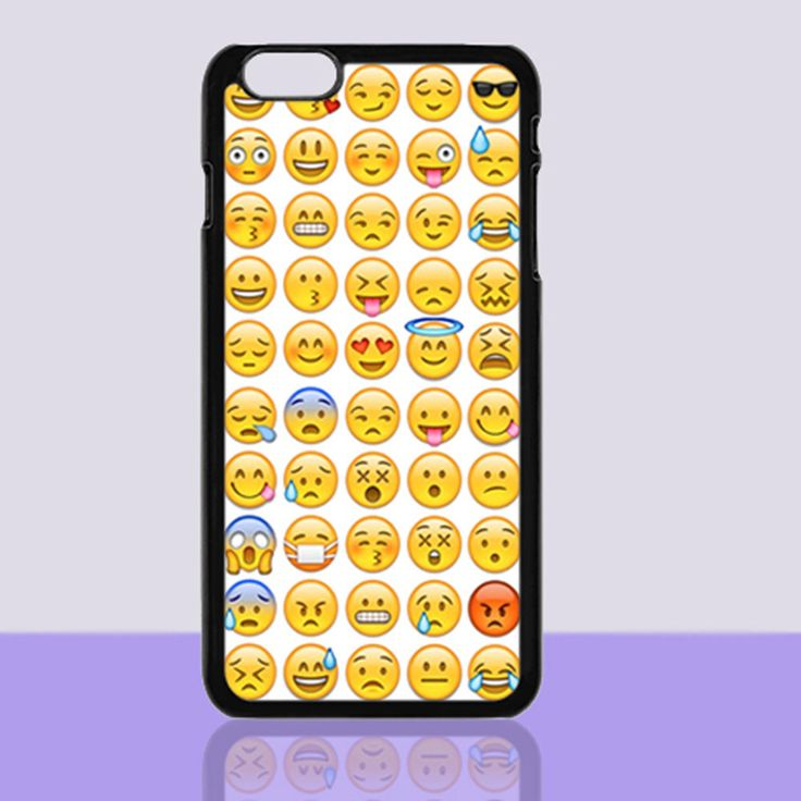EMOJI EMOTICON COOL FUNKY SMILEY FACES IPHONE 6S PLUS CASE #UnbrandedGeneric