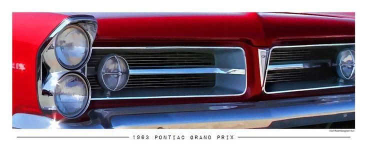 1963 Pontiac Grand Prix Poster