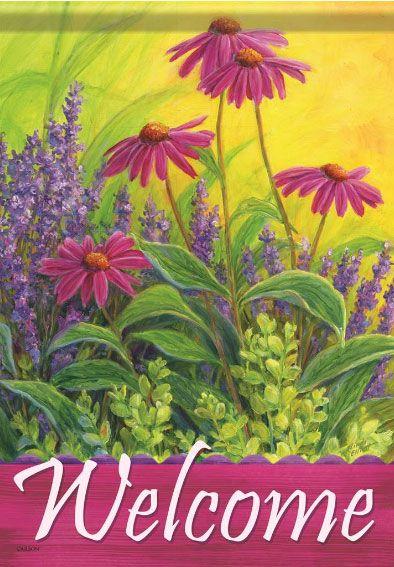 Lavender and Echinacea