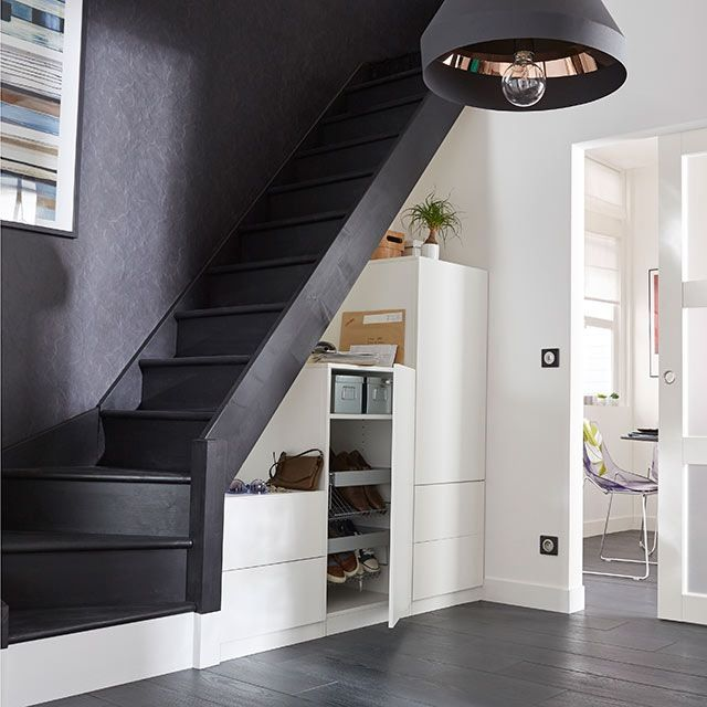 Awesome amenagement entree avec escalier ideas design for Amenagement entree exterieur avec escalier