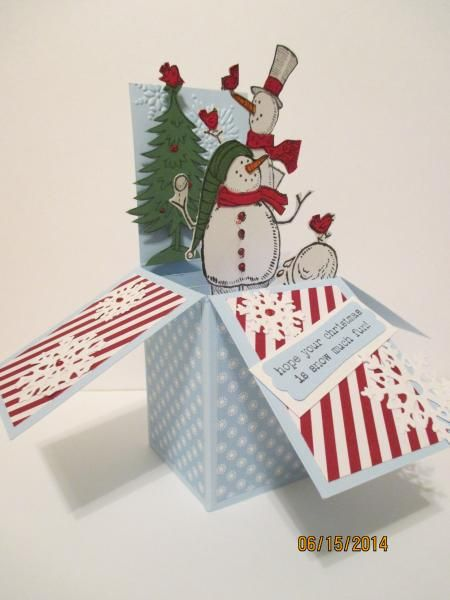 Never Too Soon for Winter by ladybug6 - Cards and Paper Crafts at Splitcoaststampers