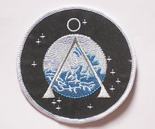 """Stargate SG-1 Project Earth Patch embroidered Badge 9x9 cm 3.5"""""""